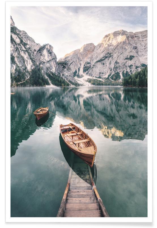 Hav, sø & havlandskab, Dolomites Plakat