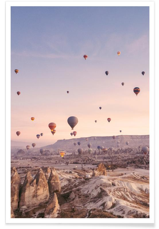 Skylines, Skies & Clouds, Dreamy, Sunsets, Exploring the Sky Poster