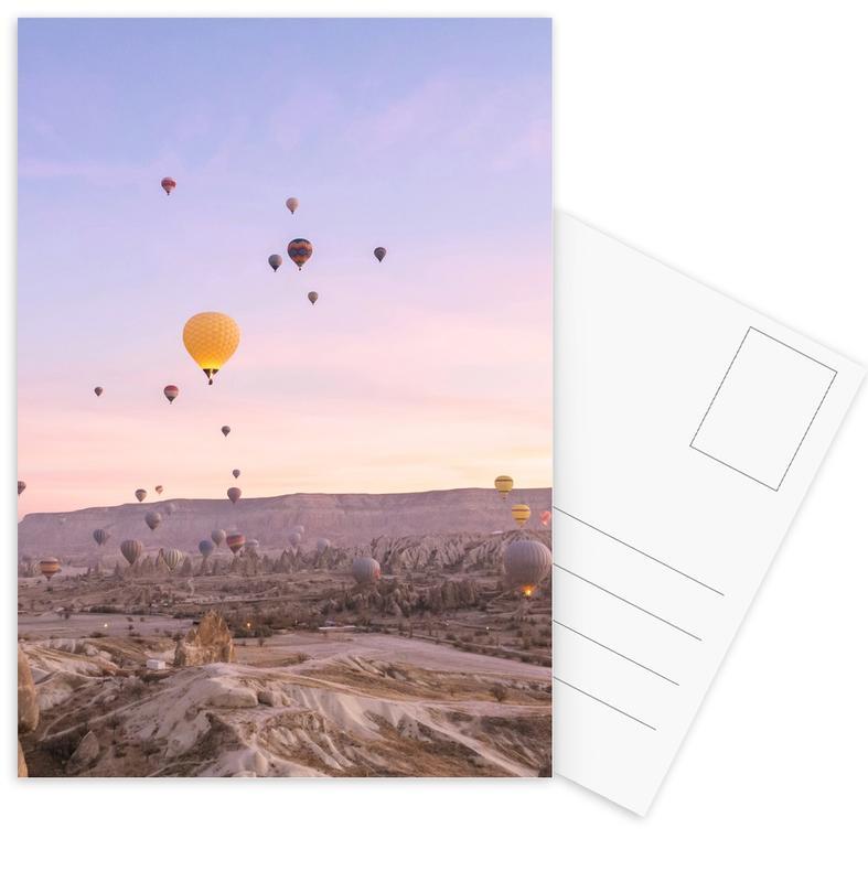 Skylines, Dromerig, Lucht en wolken, Zonsondergangen, Exploring the Sky II ansichtkaartenset