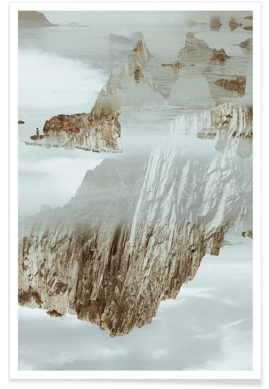 Rocks in Reflection affiche