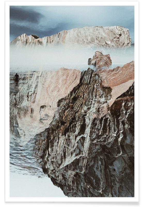 Bjerge, A Rugged Coast Plakat