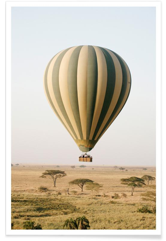 Hot Air Balloon Safari affiche