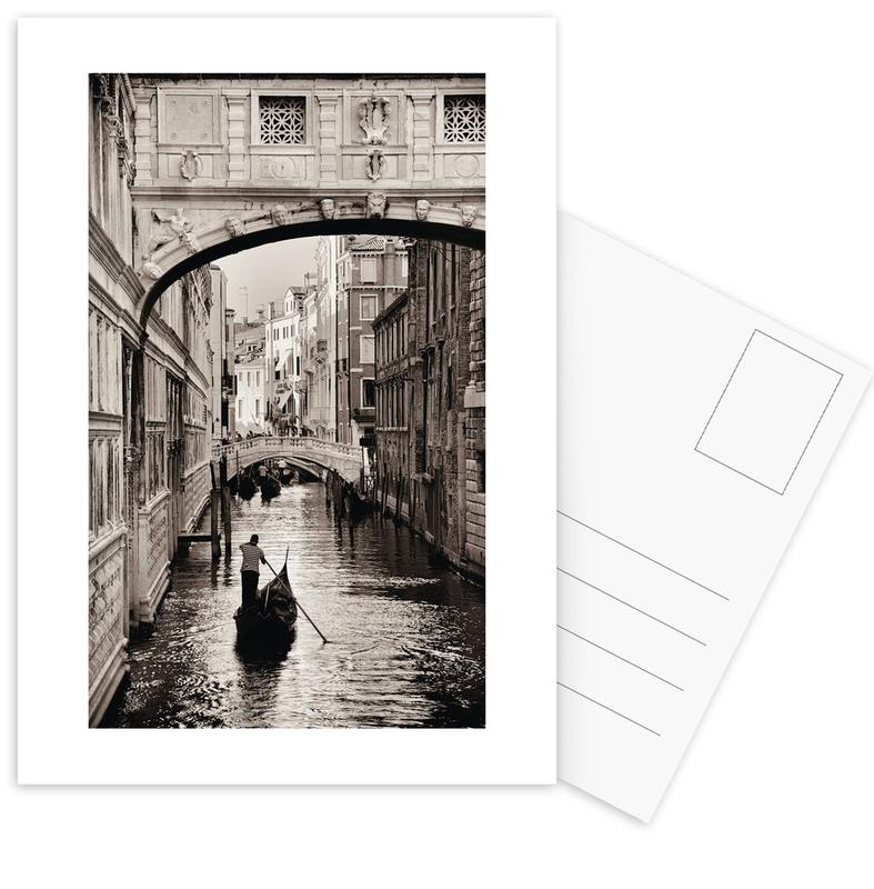 Gondola in Venice -Postkartenset