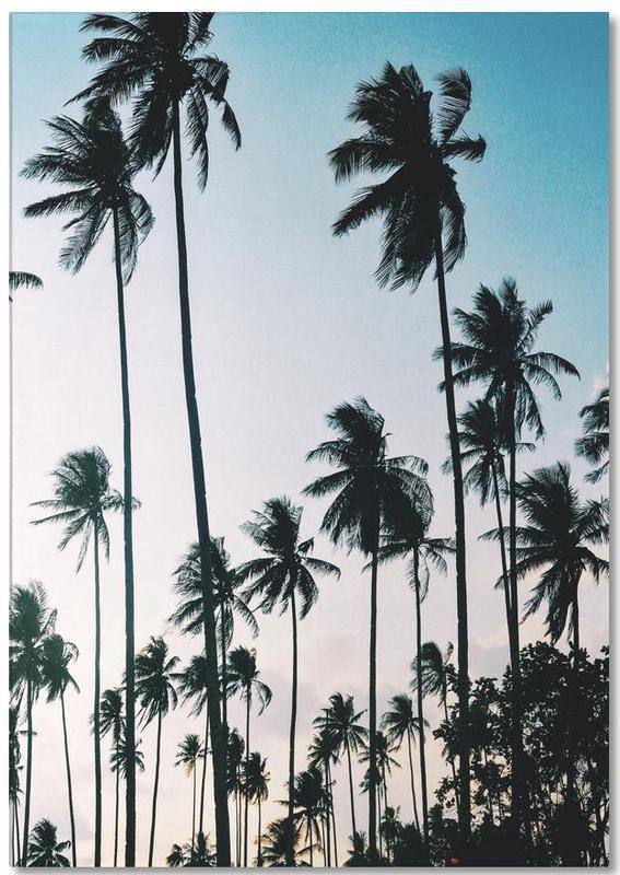 Palms at Dusk -Notizblock