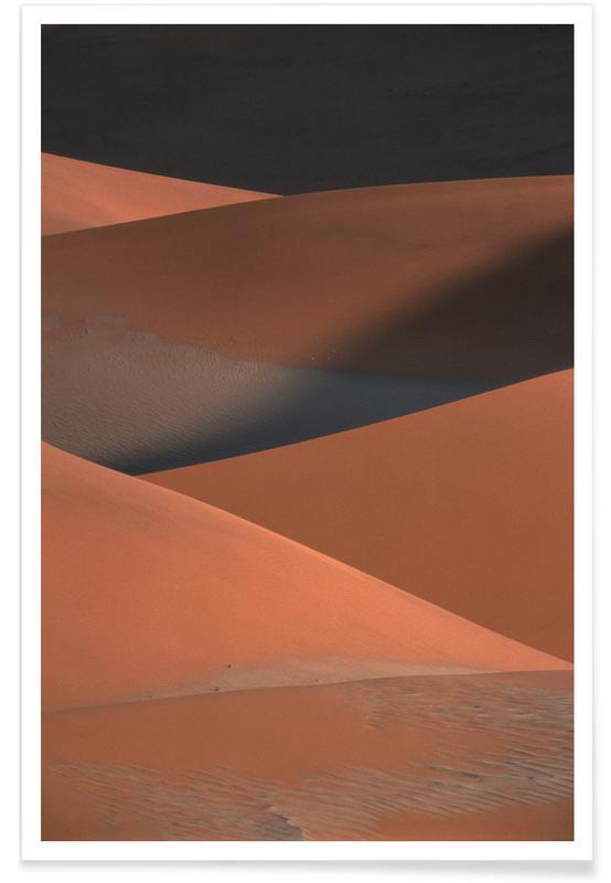 , Desert Dunes -Poster