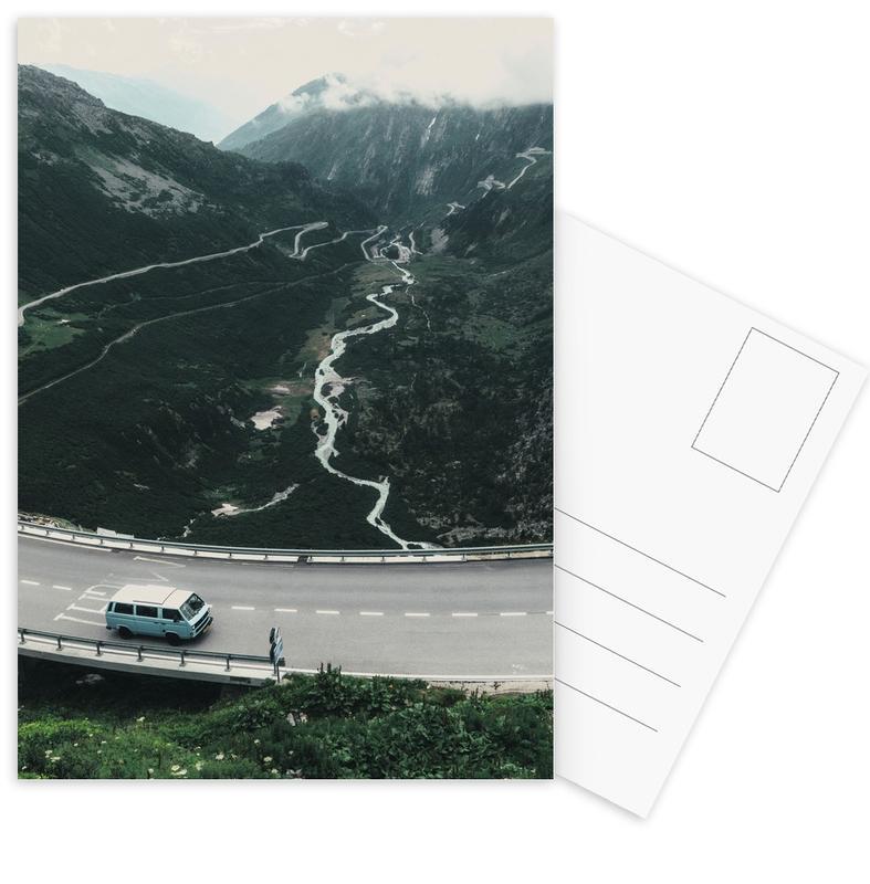 Swiss Alps -Postkartenset