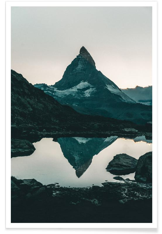 Mountains, Perfect Solitude Poster