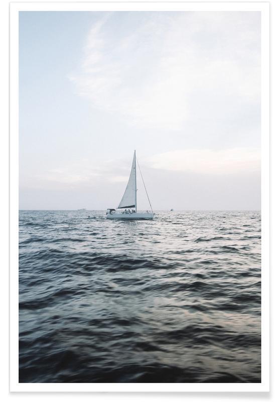 Océans, mers & lacs, Sailing Out affiche