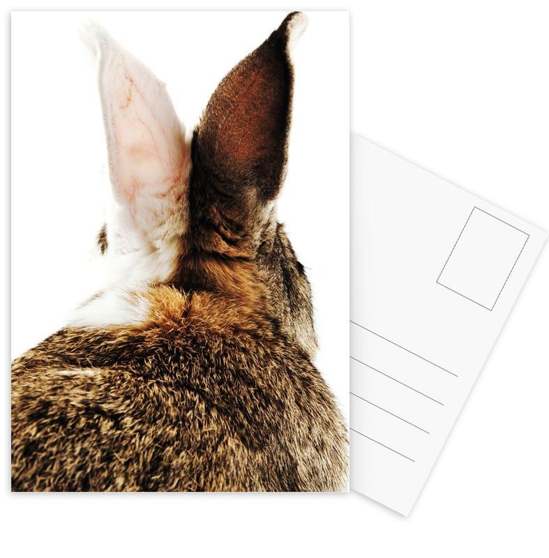 Bunny Ears -Postkartenset