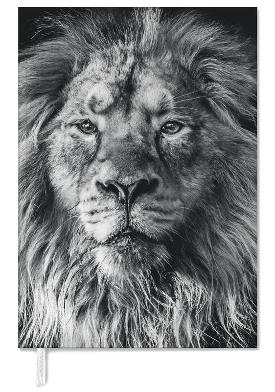 Black & White, Safari Animals, Leader of the Pack Personal Planner