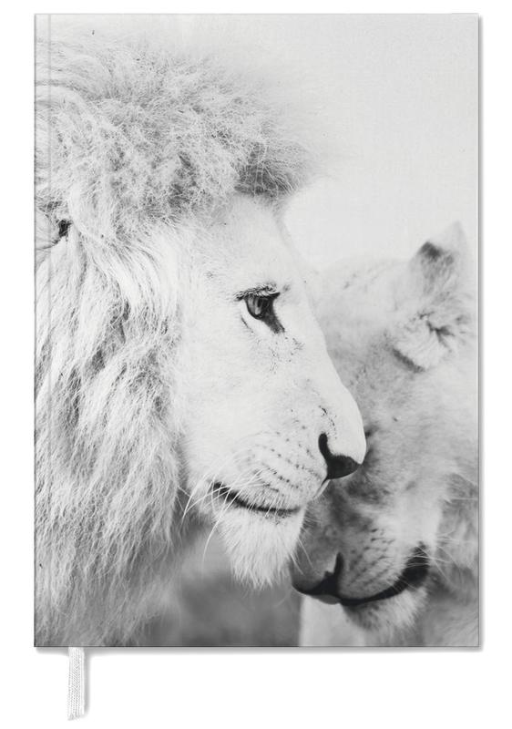 Black & White, Safari Animals, A Softer Side Personal Planner