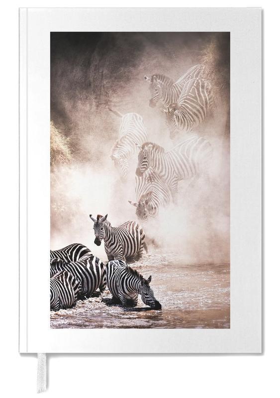 Travel, Safari Animals, Crossing the Mara River Personal Planner