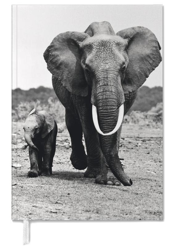 Schwarz & Weiß, Safari-Tiere, Big and Little -Terminplaner