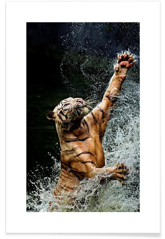 Safari dyr, Gone Fishing Plakat