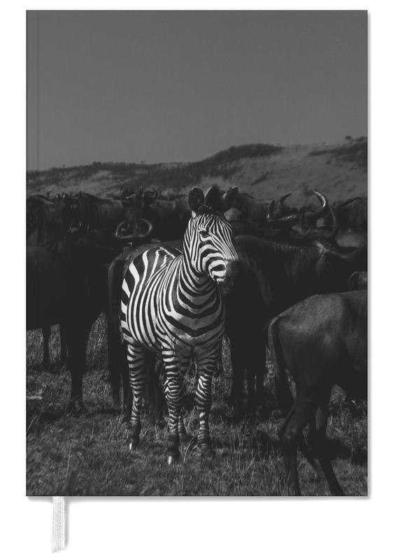 Black & White, Safari Animals, Stand Out Personal Planner