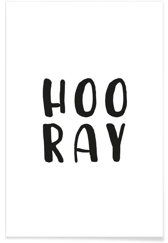 Bianco & nero, Hooray poster