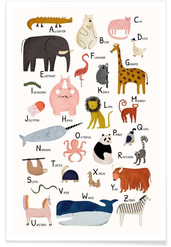 Animal Friends Poster