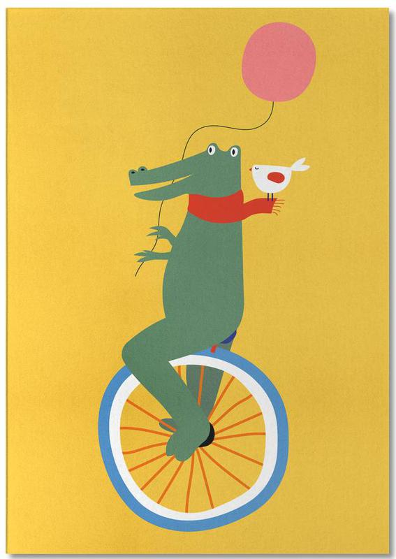Unicycle Croc Notepad