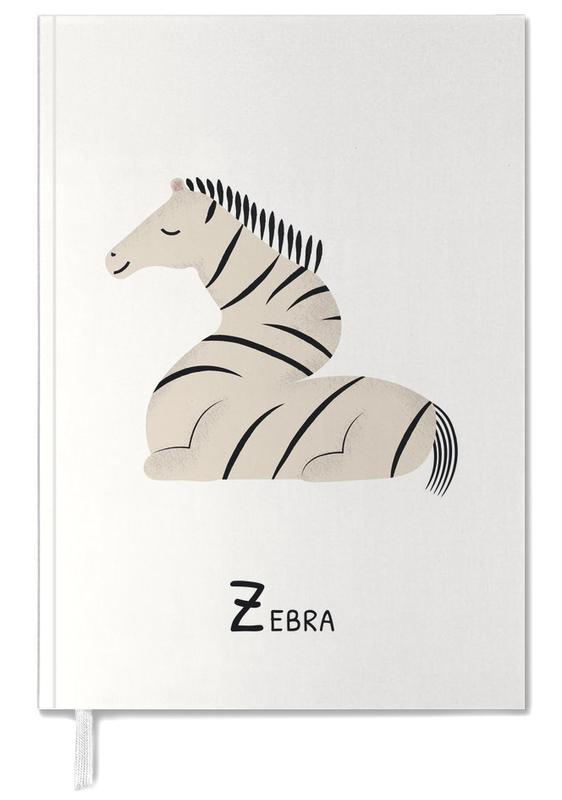 Zebras, Nursery & Art for Kids, Z for Zebra Personal Planner