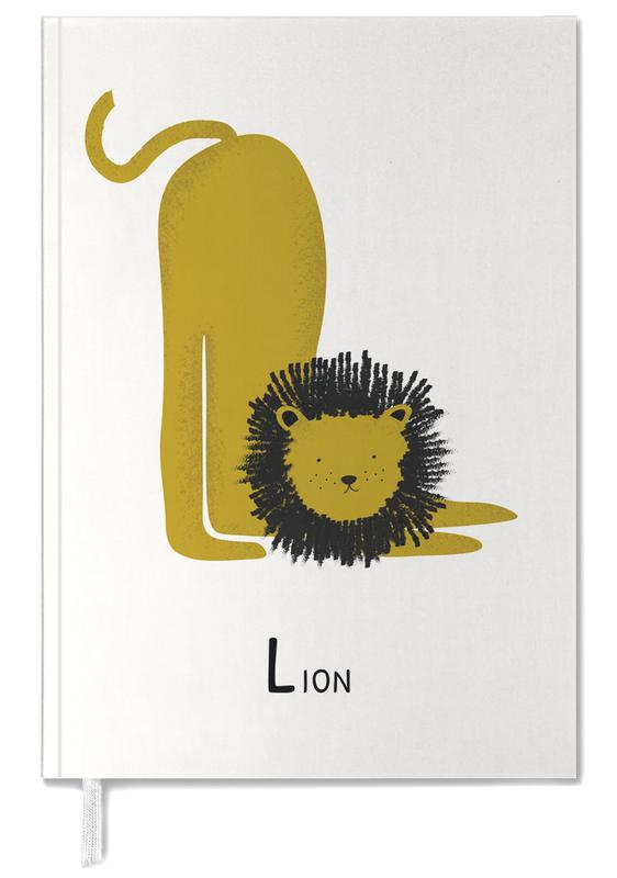 Nursery & Art for Kids, Lions, L for Lion Personal Planner