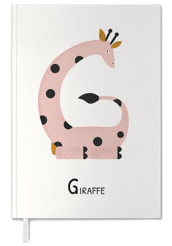 Art pour enfants, Girafes, G for Giraffe agenda