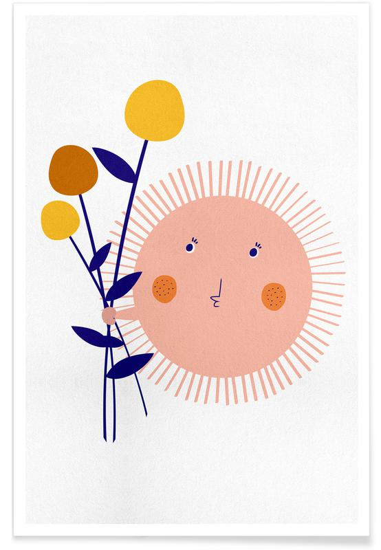 Sunshine Bouquet Plakat