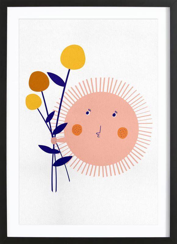 Sunshine Bouquet ingelijste print