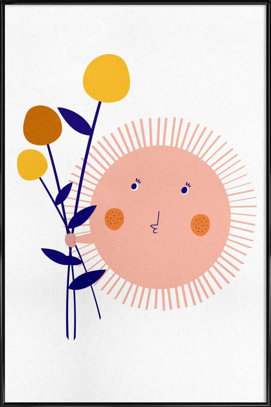 Sunshine Bouquet ingelijste poster