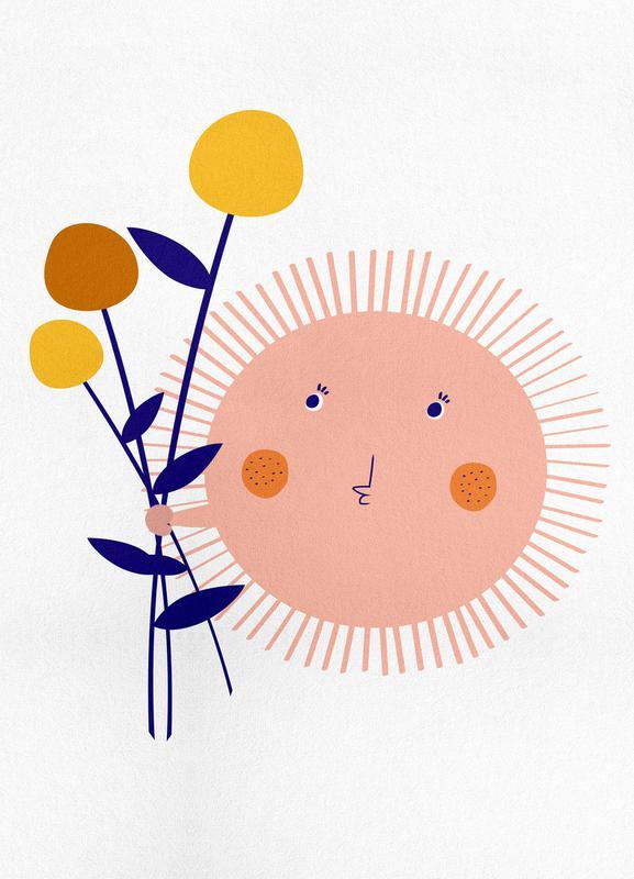 Sunshine Bouquet canvas doek