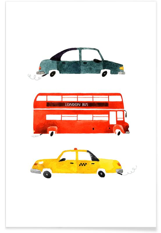 Art pour enfants, City Travel affiche