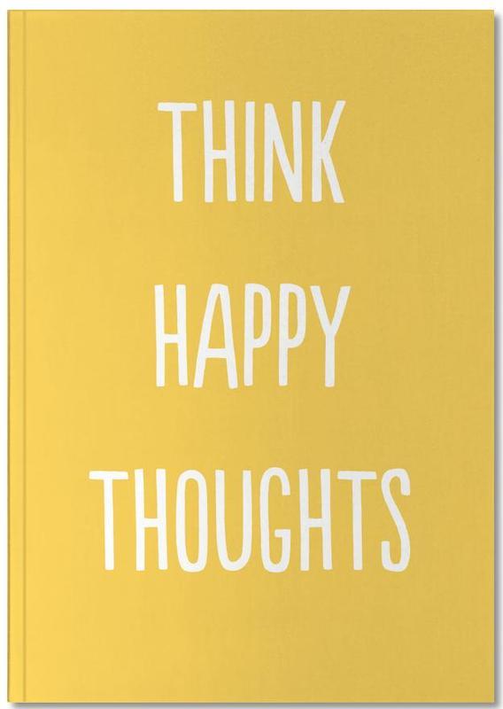 Kinderzimmer & Kunst für Kinder, Happy Thoughts Notebook