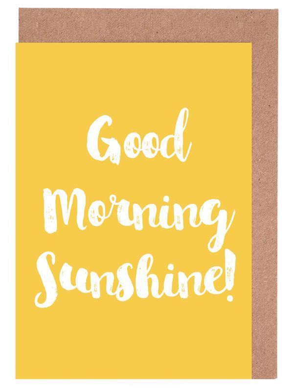 Good Morning cartes de vœux