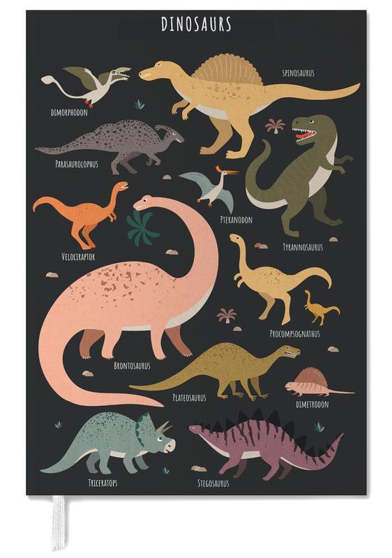 Kinderzimmer & Kunst für Kinder, Dinosaurier, Dinosaur Friends II -Terminplaner