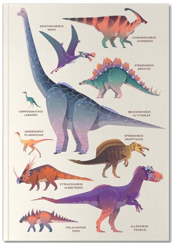 Nursery & Art for Kids, Dinosaurs, Dinosaur Names Notebook