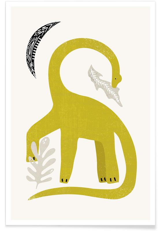 Dinosaurs, Green Giant Poster