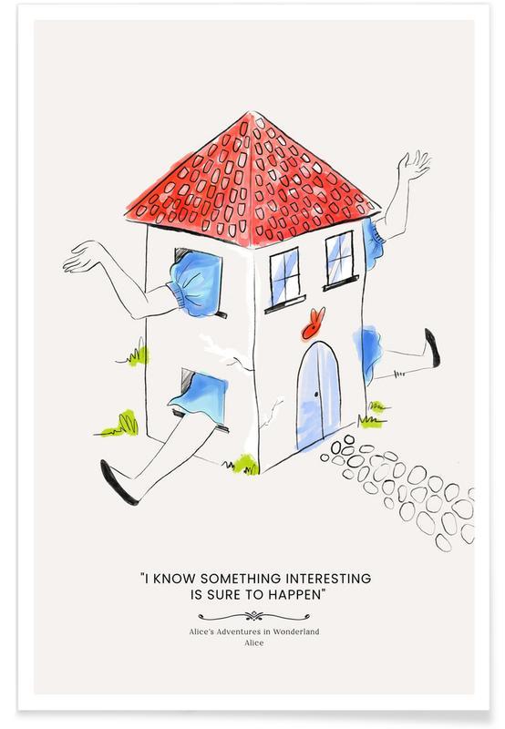 Nursery & Art for Kids, Alice Poster
