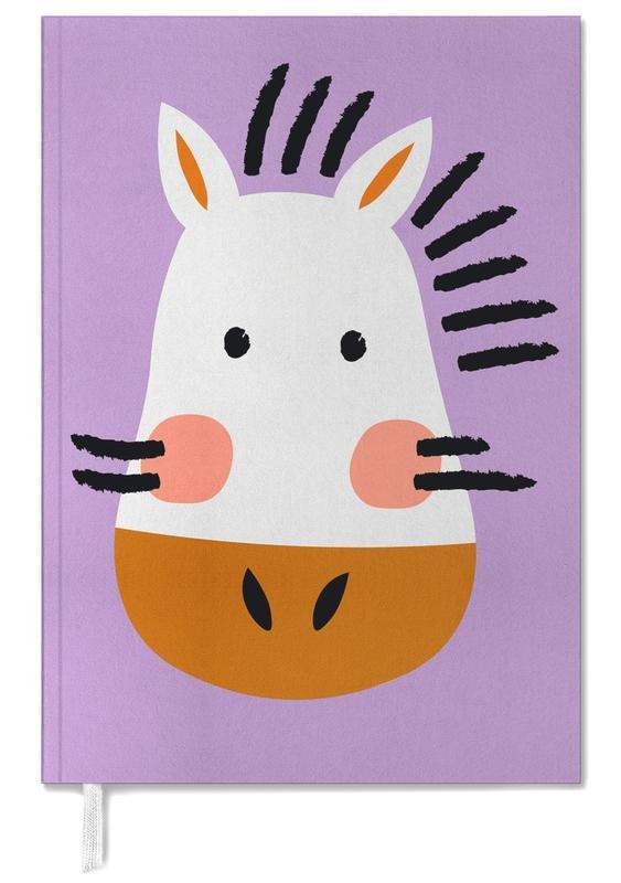 Zebras, Nursery & Art for Kids, Ziggy the Zebra Personal Planner