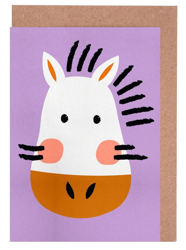 Ziggy the Zebra cartes de vœux