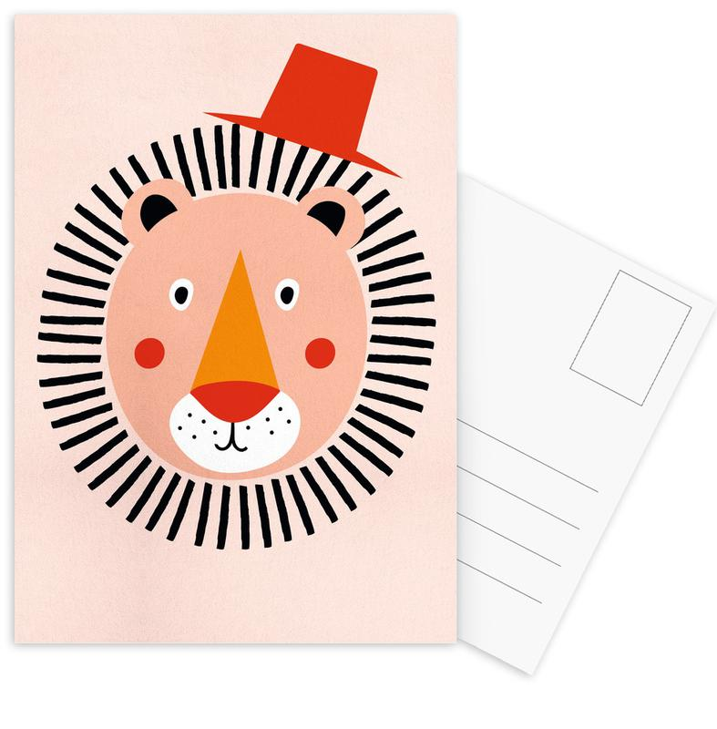 Well Dressed Lion -Postkartenset