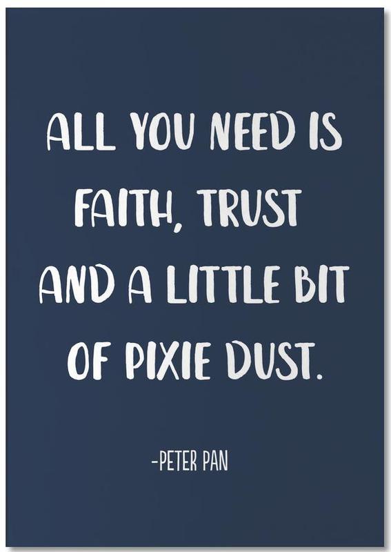 Pixie Dust -Notizblock