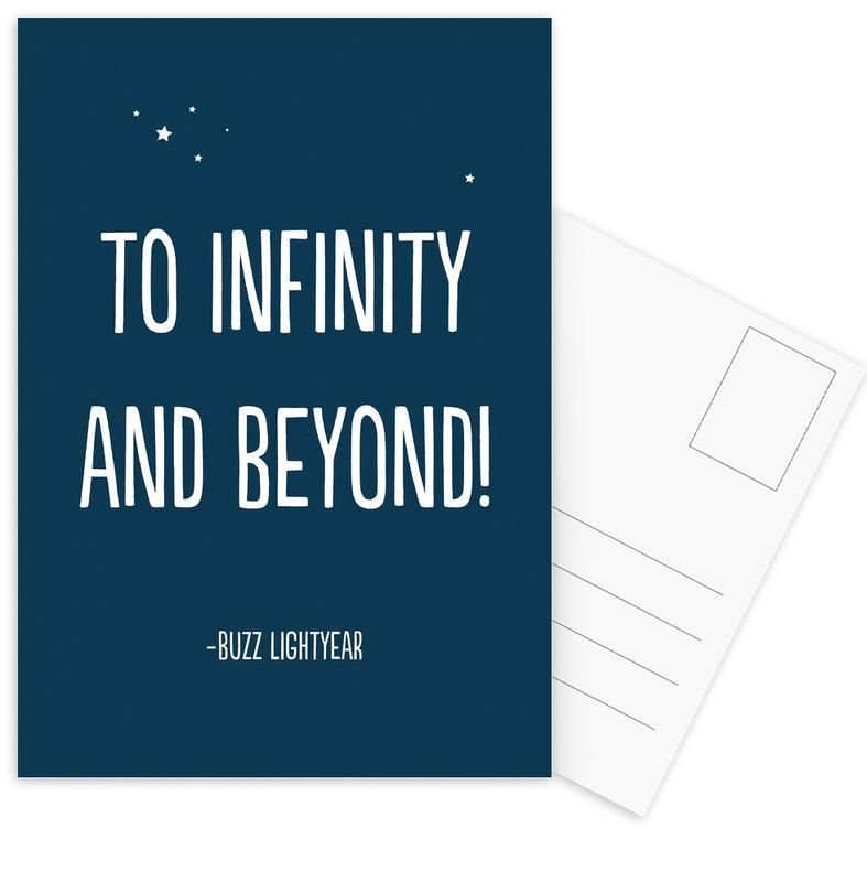 To Infinity, and Beyond! -Postkartenset