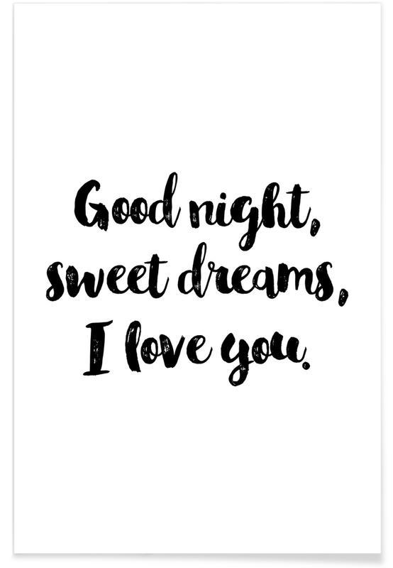 Arte para niños, Sweet Dreams póster