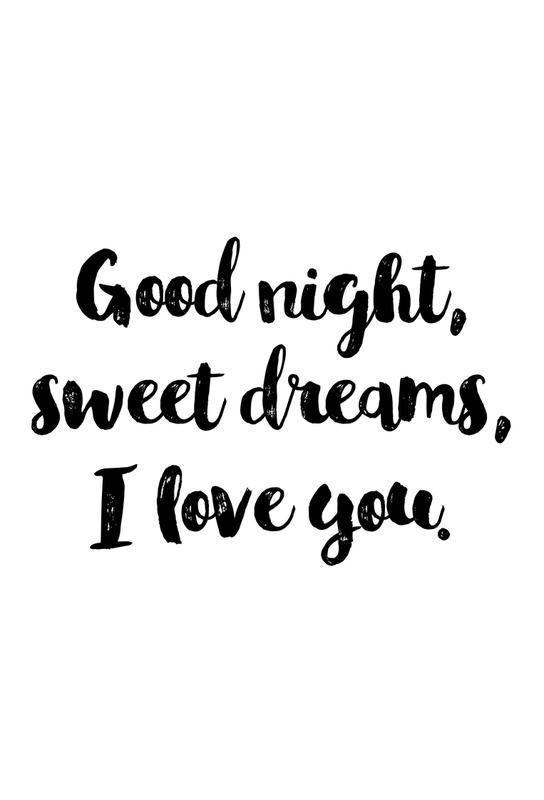 Sweet Dreams Aluminium Print Juniqe