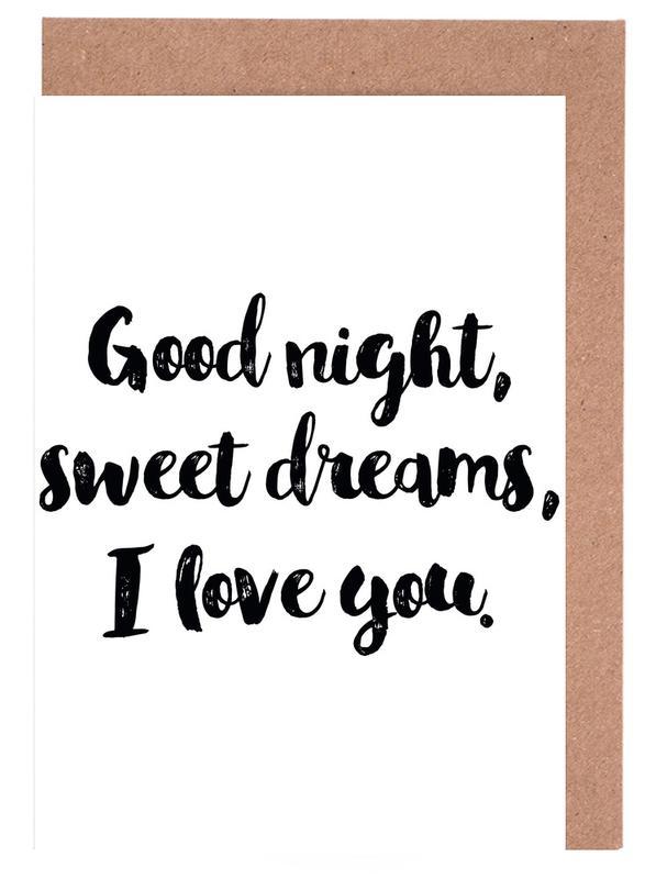 Sweet Dreams cartes de vœux