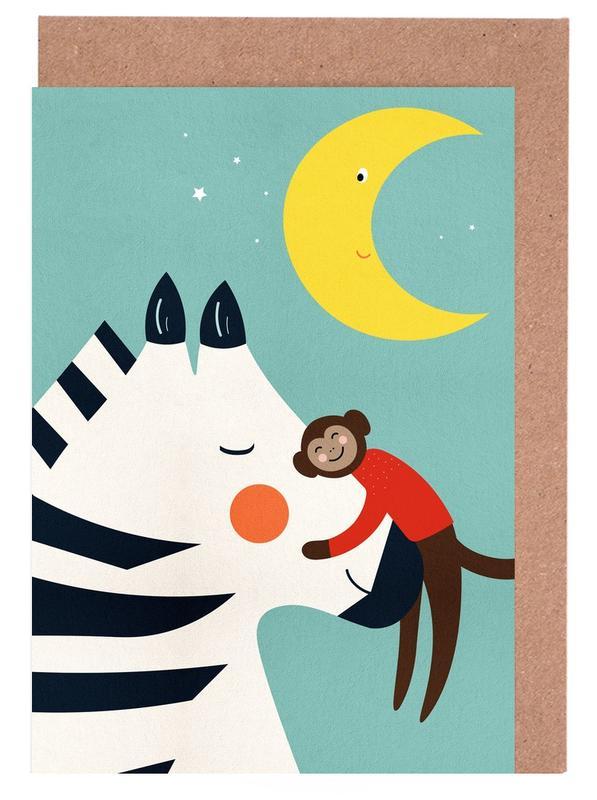 Goodnight Hug -Grußkarten-Set