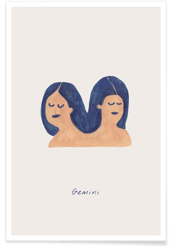 Arte para niños, Gemini póster