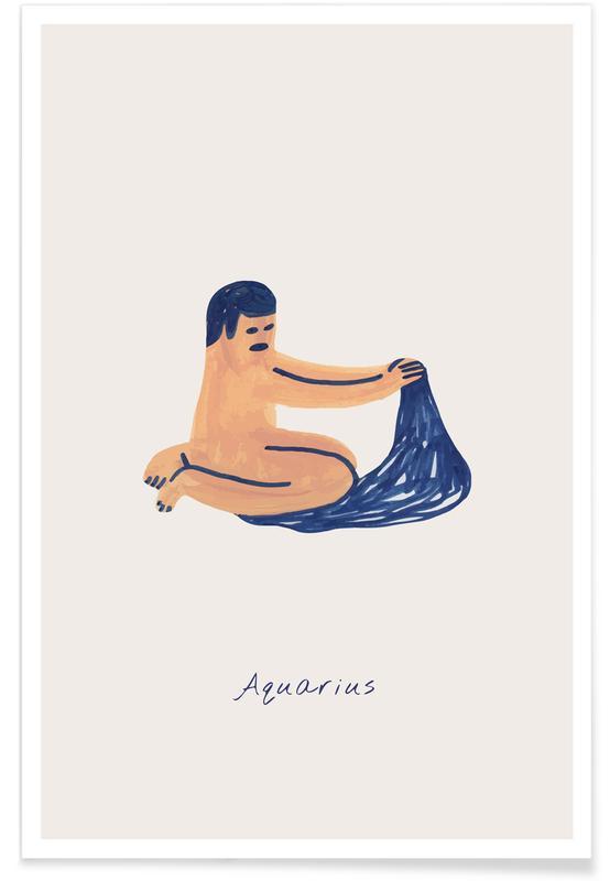 Arte para niños, Aquarius póster