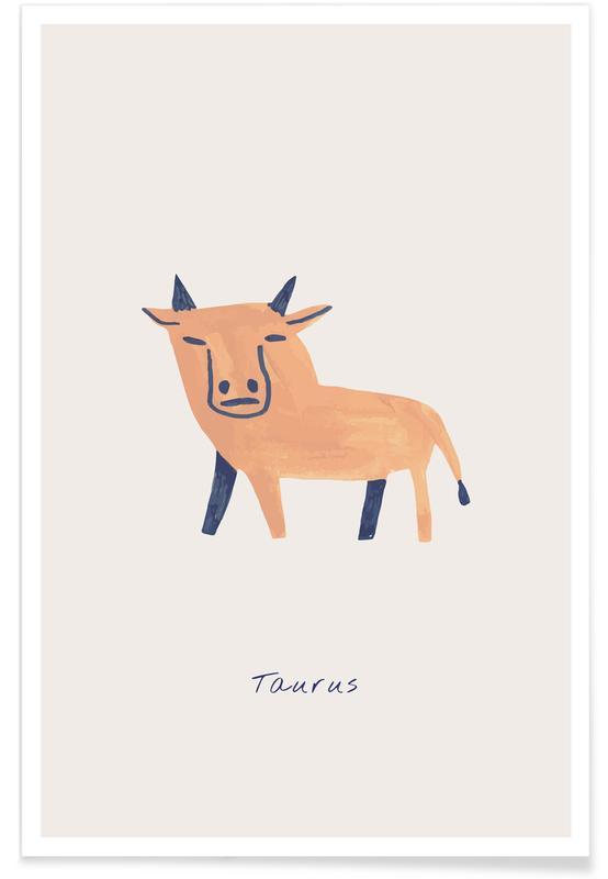 Arte para niños, Taurus póster