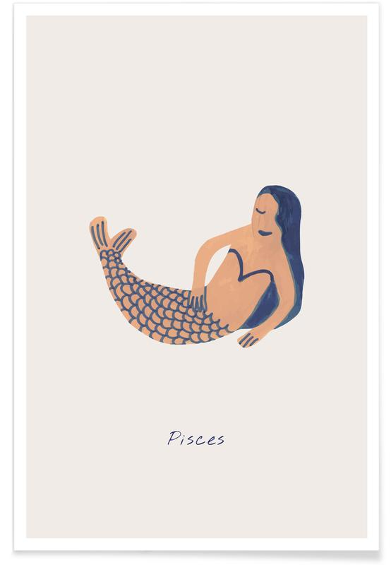 Portraits, Pisces affiche