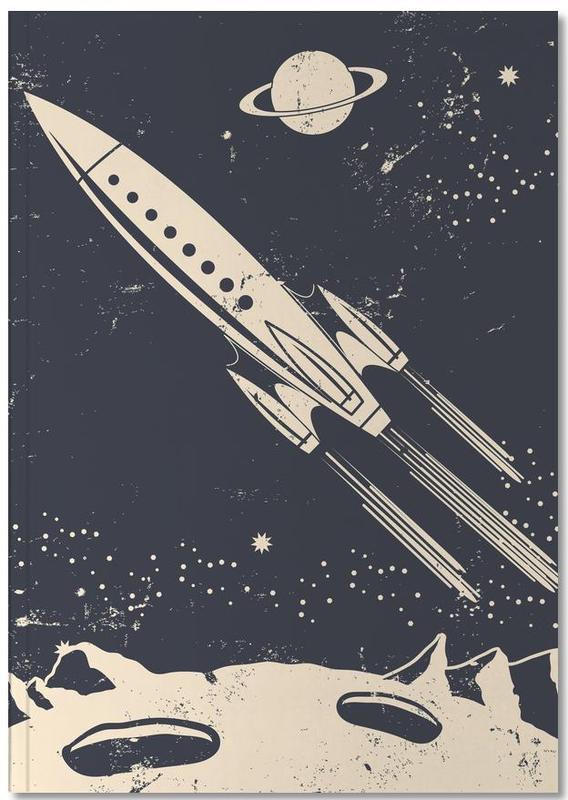 Spaceships & Rockets, Nursery & Art for Kids, Space Rocket II Notebook